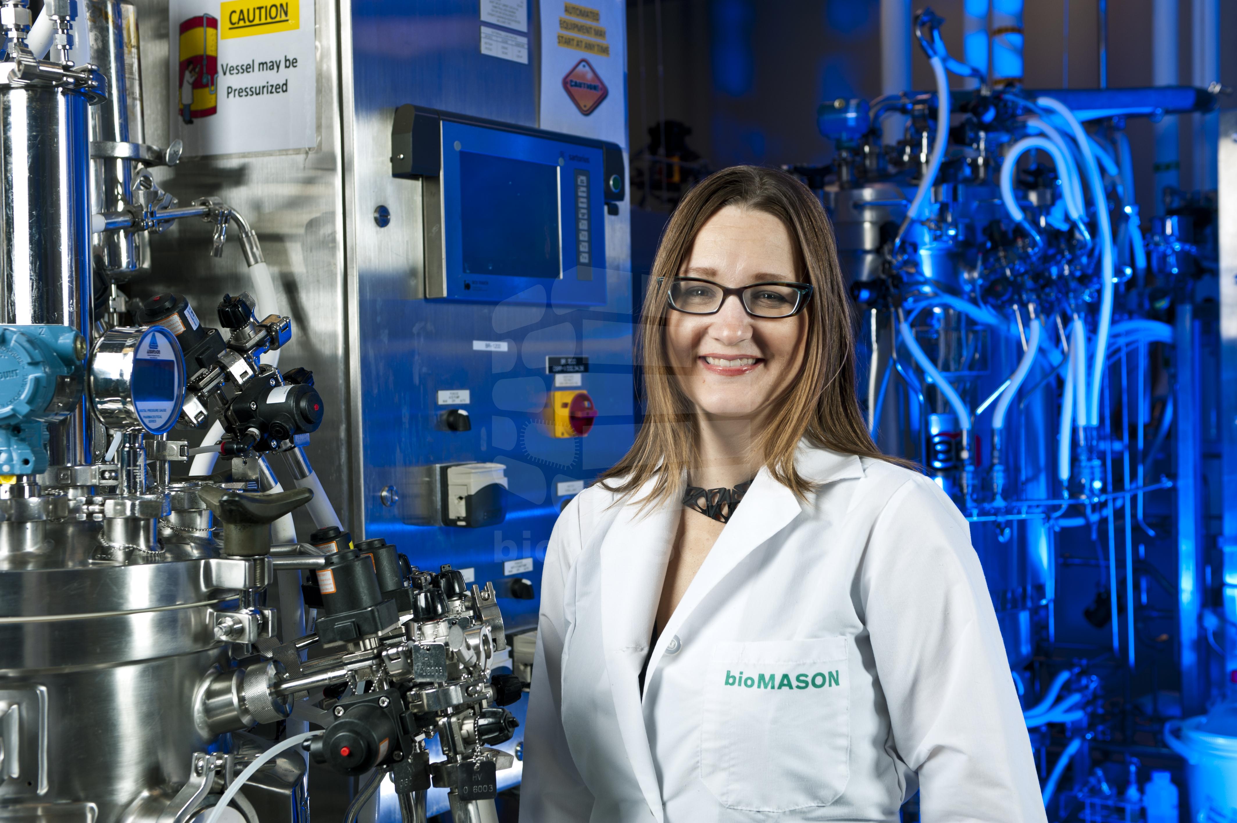 biomason founder Giner Krieg Dosier