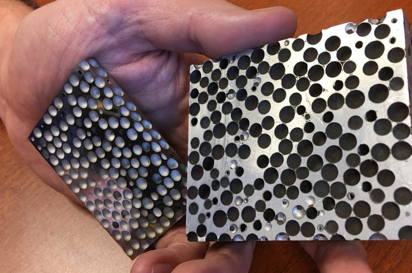 New Composite Metal Foam - CMF - Proves Its Mettle