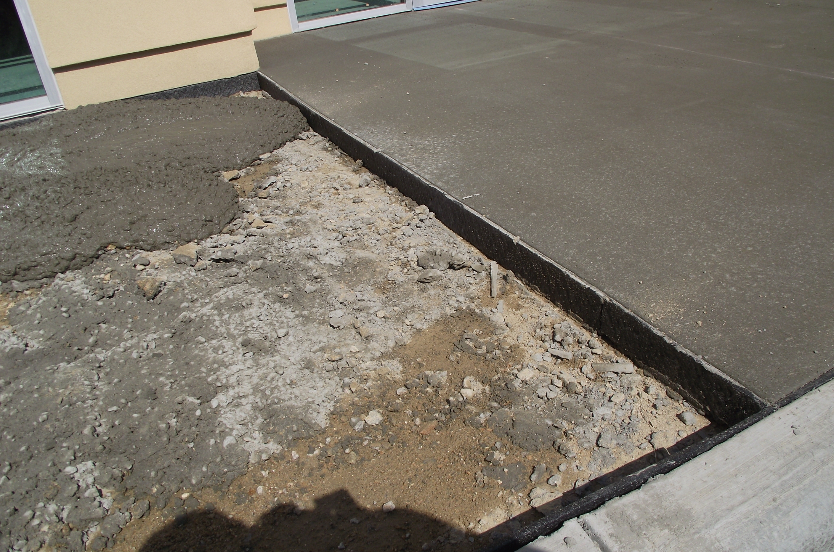 Installed Nomaflex Expansion Joint Filler Photo Gallery